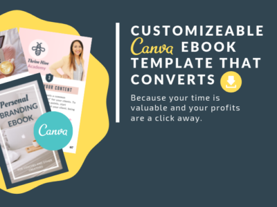 Customizeable Canva eBook Template