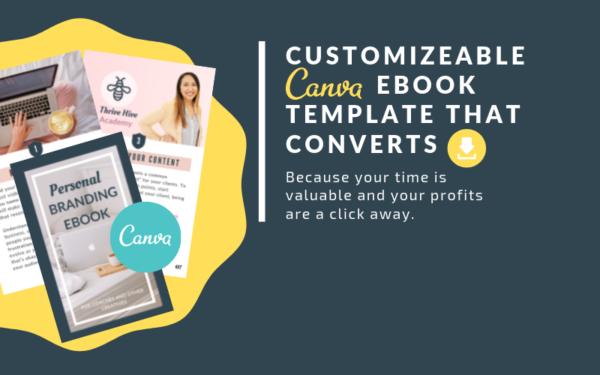 Customizeable Canva eBook Template